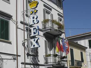 berechnen sie ihre anfahrtsroute zu uns hotel rex viareggio. Black Bedroom Furniture Sets. Home Design Ideas